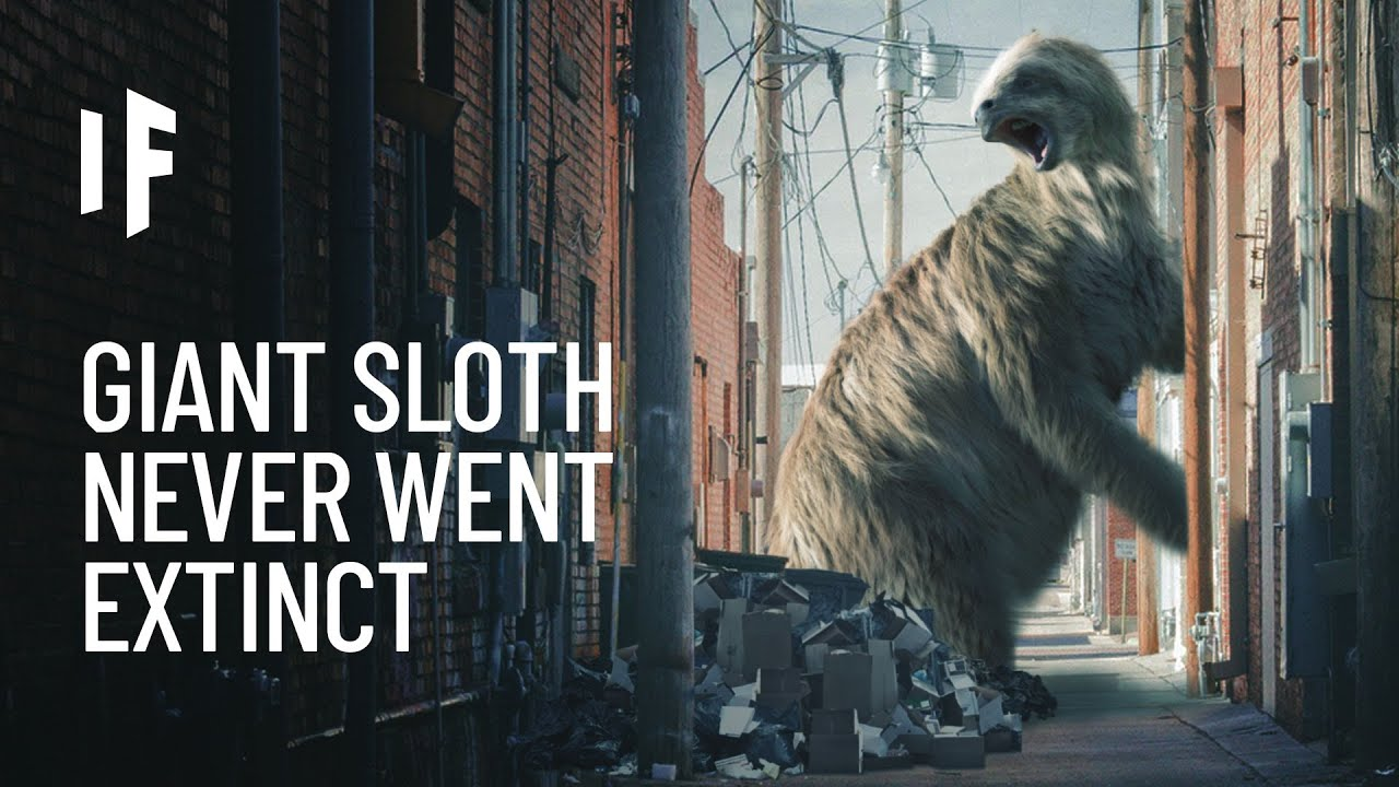 What If Giant Sloths Didn't Go Extinct?