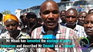 Mbadi calls Caroli Omondi a 'coward' for boycotting repeat nominations