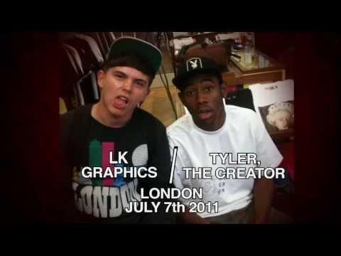 Tyler, The Creator - Inglorious | LK Graphics (Lyric Video)