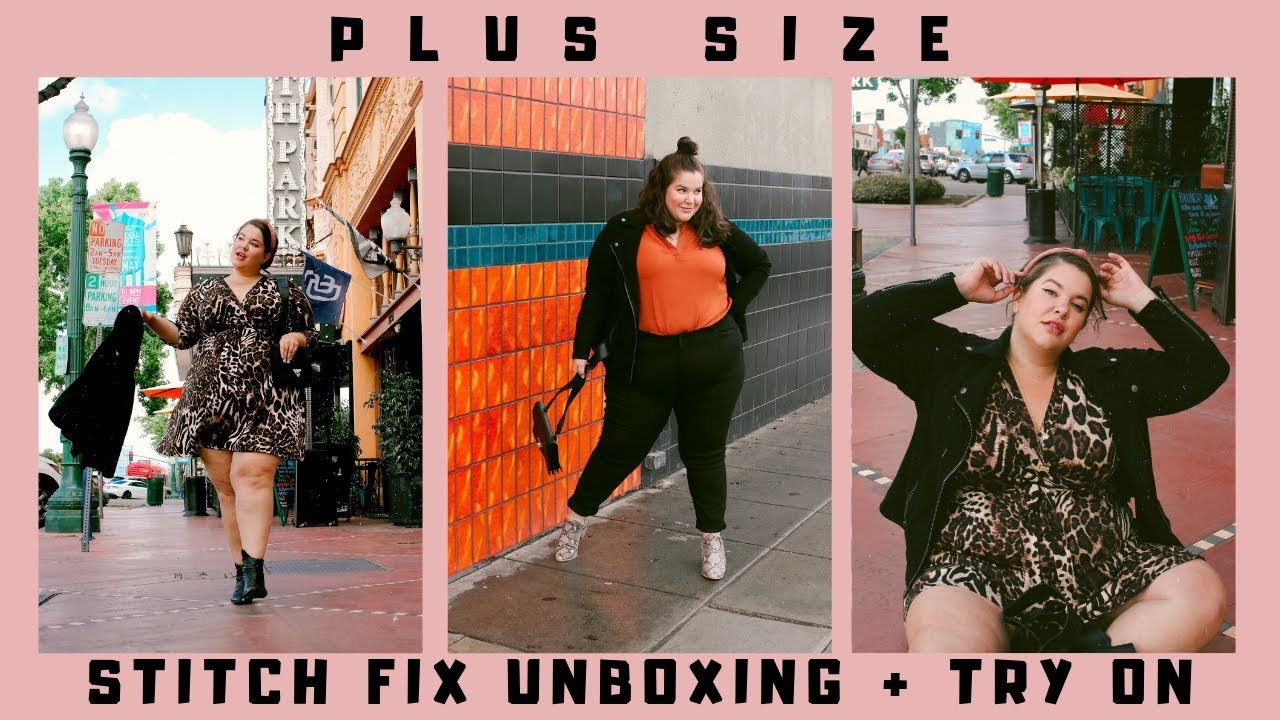 23087da6635 Repeat (PLUS SIZE) Stitch Fix Unboxing + Try On! | 5/5 Perfect Box + $25  CREDIT?! by Natalie Drue - You2Repeat
