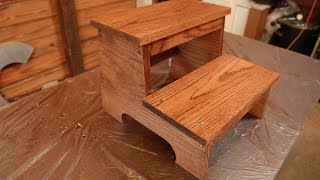 Create Your Own Wooden Step Stool