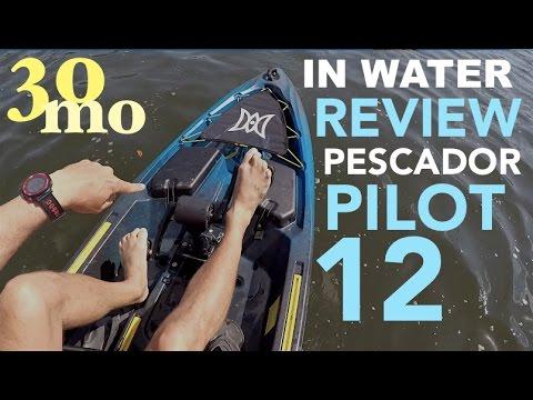 PESCADOR PILOT 12 FT PEDAL KAYAK by perception - Kayak Review