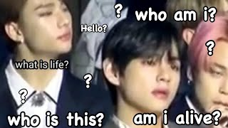 kpop idols at award shows in a nutshell