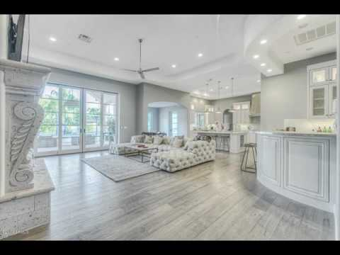 Grey Wood Floors Modern Interior Design - YouTube
