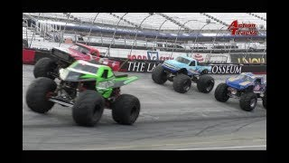 TMB TV: ActionTracks 9.5 - Bristol Motor Speedway - Bristol, TN 2018 Monster Truck Madness 7/14/18
