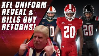 XFL Unveils Uniforms & NFL News