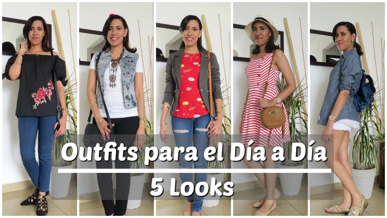 b4a2c70185 5 OUTFITS PARA EL DIA A DIA - CASUAL LOOKBOOK - PRINCESA MIEL BLOG ...
