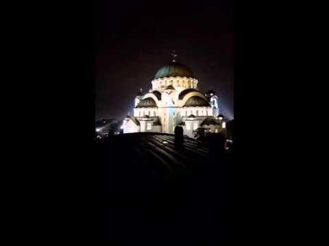 Easter bells at Saint Sava Cathedral, Belgrade