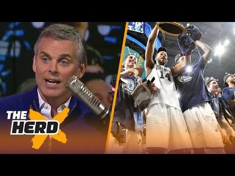Colin Cowherd reacts after Villanova beat Michigan to win another National Title | THE HERD