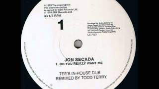 Jon Secada - Do You Really Want Me - Tee