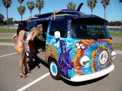 The Coolest Vw Bus In The World Video 1 Youtube
