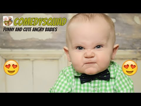 Funny and Cute Angry Babies Video Compilation
