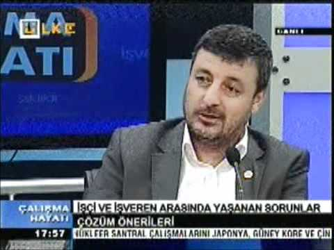 15.04.2012 Ramazan Bİngöl Ülke Tv Resul Kurt'la Çalışma Hayatı-part1