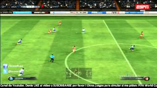 FC Porto vs Sporting Braga - Jornada 7 Liga Portugal 2014/2015 @ FIFA 15 PS3