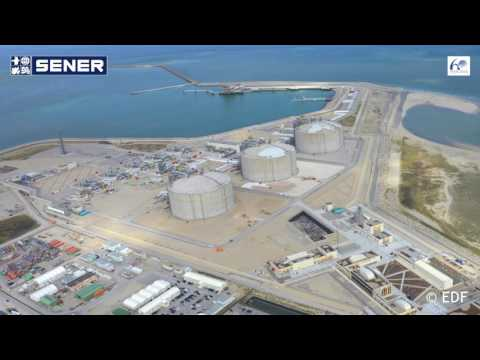 The Dunkirk regasification plant has received its first LNG carrier