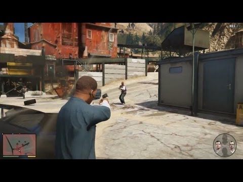 Grand Theft Auto 5 Gameplay Reveal - FIRST REAL GAMEPLAY TRAILER (GTA 5 World Premiere Official)