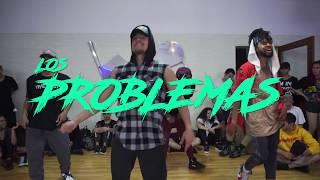Los Problemas - GRUPOS EXTRA / Choreography By Diego Vazquez