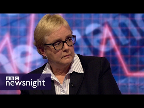 'Do I get frustrated? Every single day': Hospital Trust CEO - BBC Newsnight
