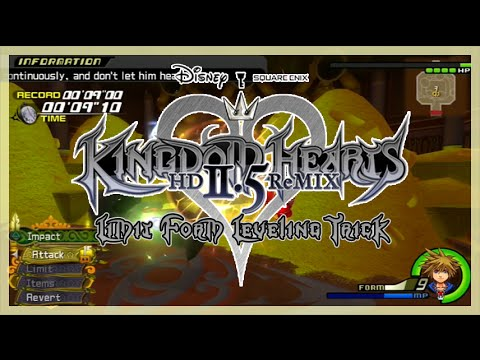 Kingdom Hearts Hd 2 5 Remix Quick Guide Easy Summon Level Up Kh2 ...