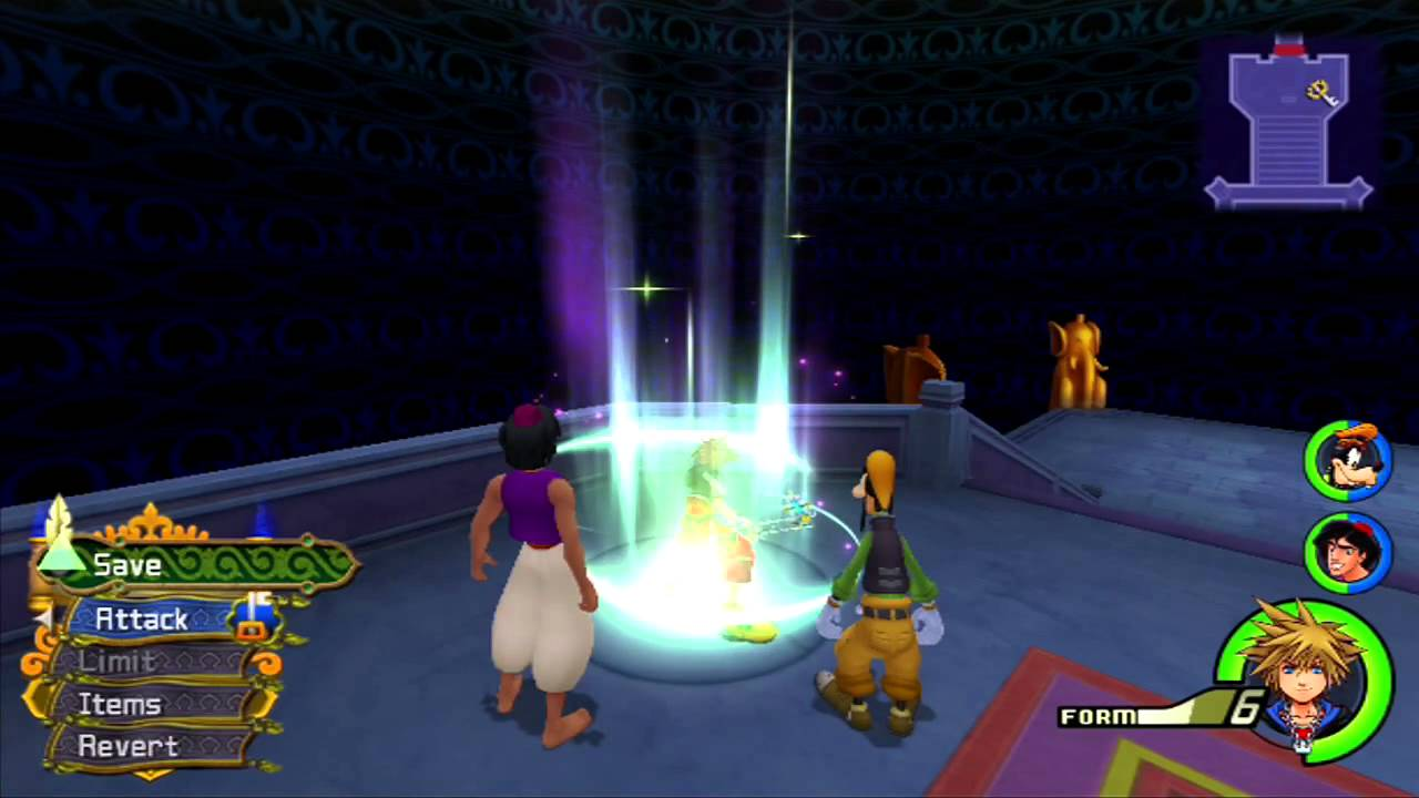 Kingdom Hearts HD 2.5 Remix - How To Level Up Limit Form! - YouTube