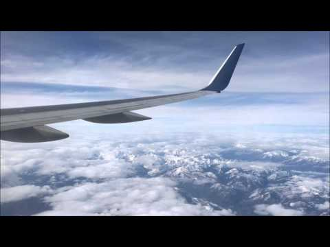 Delta 757-200 N545US Detroit to Seattle Takeoff Cruise and Landing