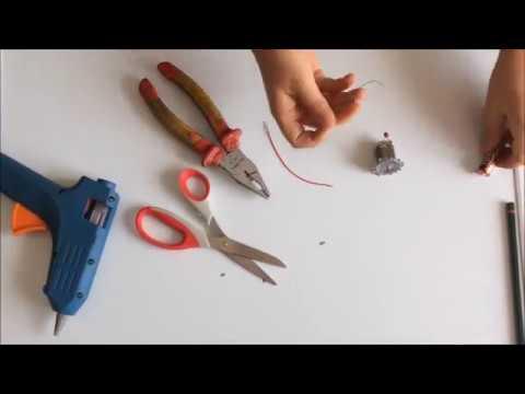 Elektrik Motoru Ile Mini Testere Yapımı( Dikkat çok Keskin!) / How To Make A Mini Dremel Tool?