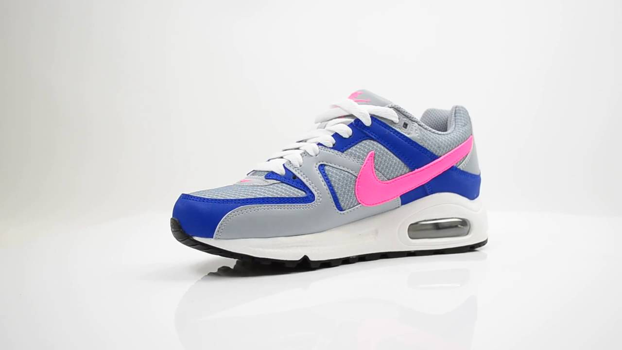 the best attitude 8160c c60b7 NIKE AIR MAX COMMAND DAMES SNEAKERS  GRIJS ROZE  - YouTube