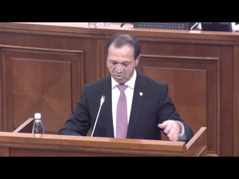 Şedinţa Parlamentului Republicii Moldova 16.11.2017