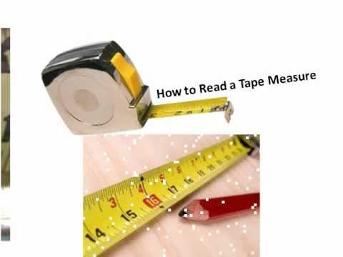 Reading A Tape Measure Youtube