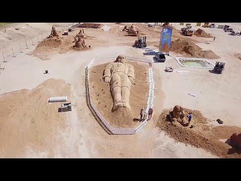 شاهد: عسقلان تنحت السلام والأمل على الرمال  - نشر قبل 8 ساعة