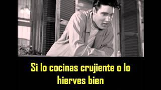 ELVIS PRESLEY -  Crawfish ( con subtitulos en español ) BEST SOUND