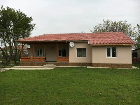 Newly built single storey 2bed house property  for sale near Dobrich, Bulgaria