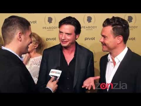 Clayne Crawford & Aden Young At The Peabody Awards