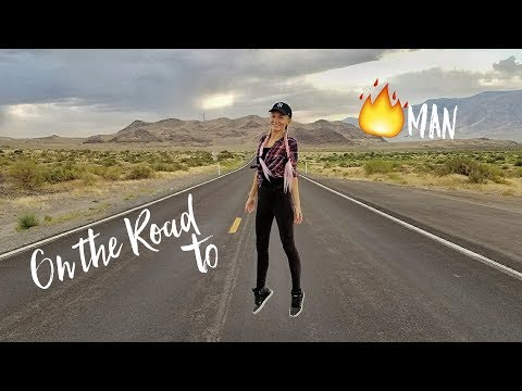 On The Road to BURNING MAN! NOT What I Expected! | Travel VLOG