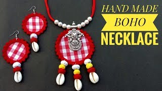 Handmade Jewellery//Necklace Making//At Home// Useful \u0026 Easy