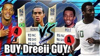 FIFA 18:Buy DREEII GUY ICON PELE vs Ronaldinho 🔥
