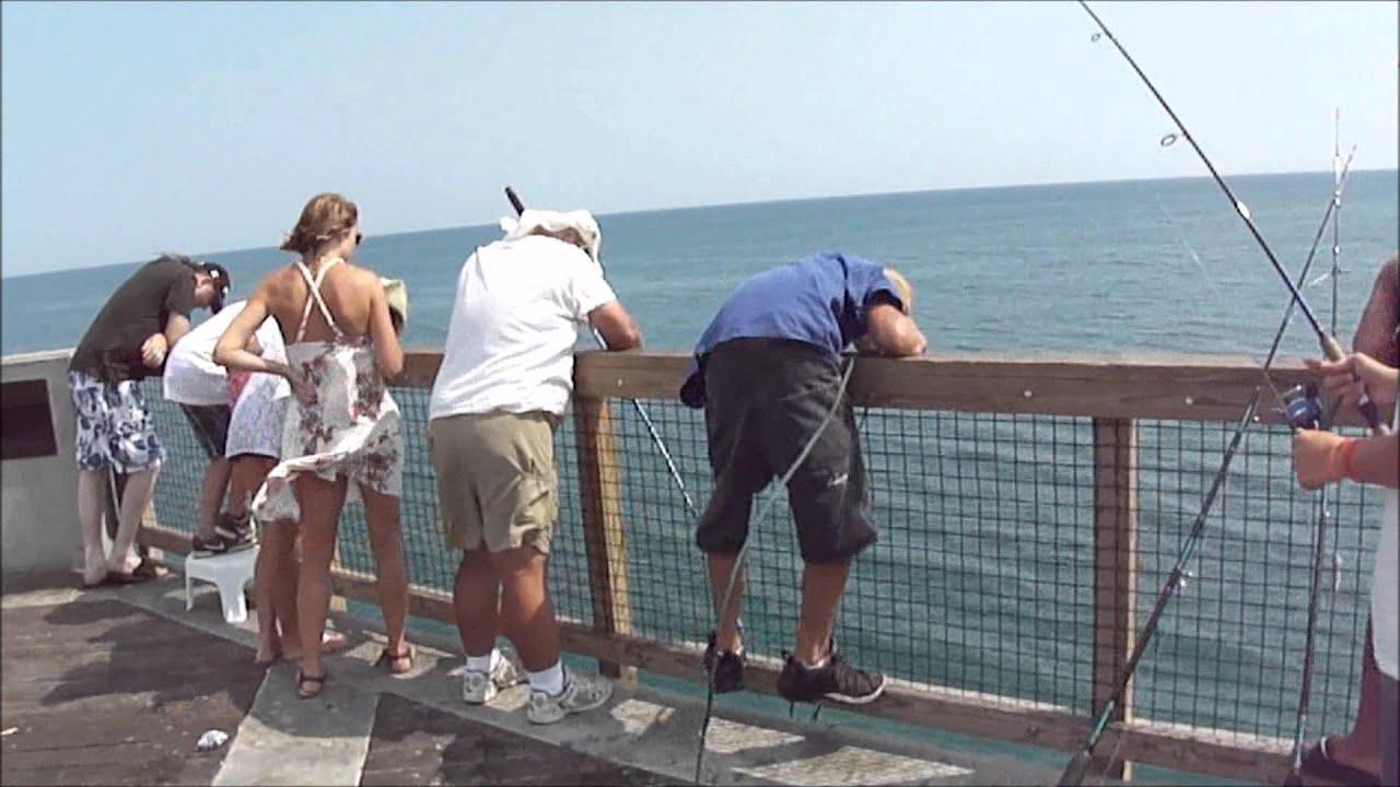 King Mackerel Redfish Navarre Beach Fishing Pier 6 30