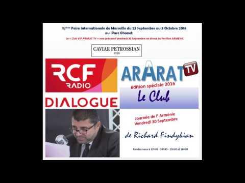 Radio RCF Richard Miron et Ara Khatchadourian à la Foire de Marseille 2016