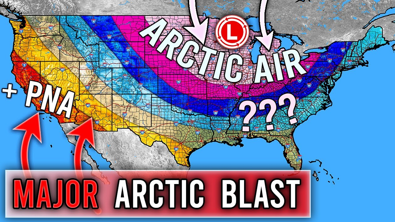 Upcoming Arctic Blast! Colder Pattern, Positive PNA, Long Lived Cool Down