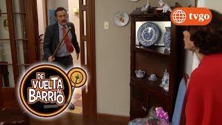 ¿Pichón encontrará a la RATA (Alex) en su casa y lo sacará a palos? - De Vuelta al Barrio 11/07/2017