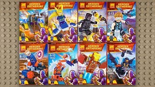 LEGO Marvel Avengers Infinity War Minifigures (knock-off) LELE 34042