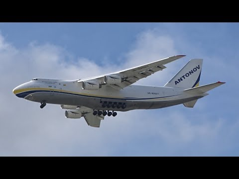 RARE Antonov Design Bureau AN124-100M [UR-82027] | Landing | Brisbane Airport