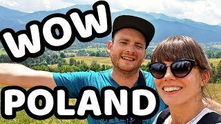 CAN'T BELIEVE this is POLAND!!! Zakopane first impressions - Poland travel vlog 2019 - PL