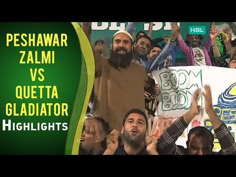Match 17: Quetta Gladiators vs Peshawar Zalmi - Highlights