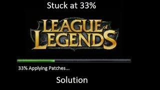League of Legends 33% stuck solution!
