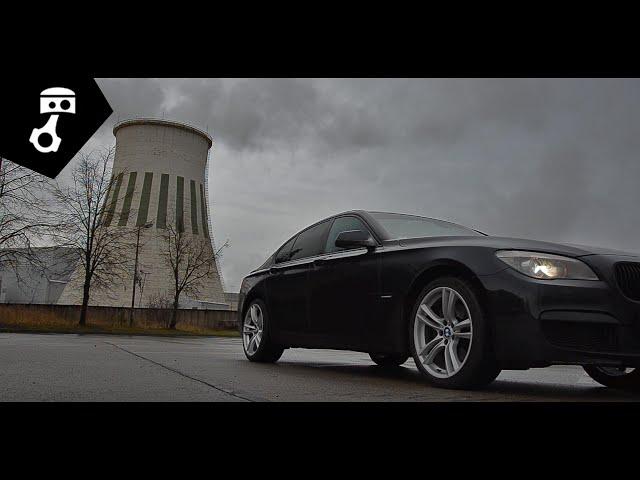 BMW 740d (F01) Тест-драйв; zhmuraTV