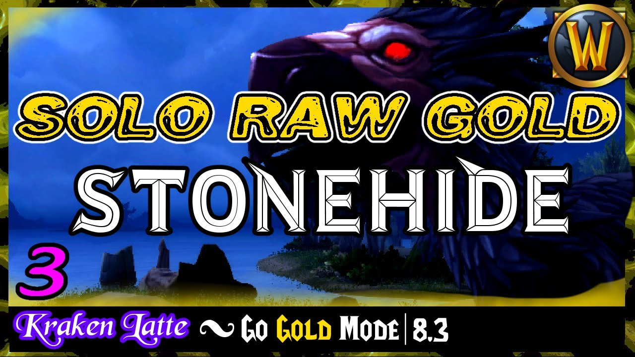 The Stonehide Raw Gold Shuffle | Go Gold Mode 8.3