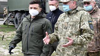 Владимир Зеленский приехал в Донбасс