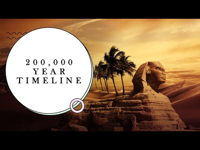 200,000 Year Timeline - Lost Civilizations and the Gods of History