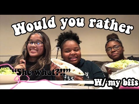 Would You Rather (CRAZY EDITION)